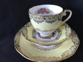 Pretty DAKIN lemon & floral tea trio